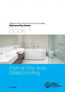 Book 1 - Guide to Internal Wet Area Waterproofing COVER